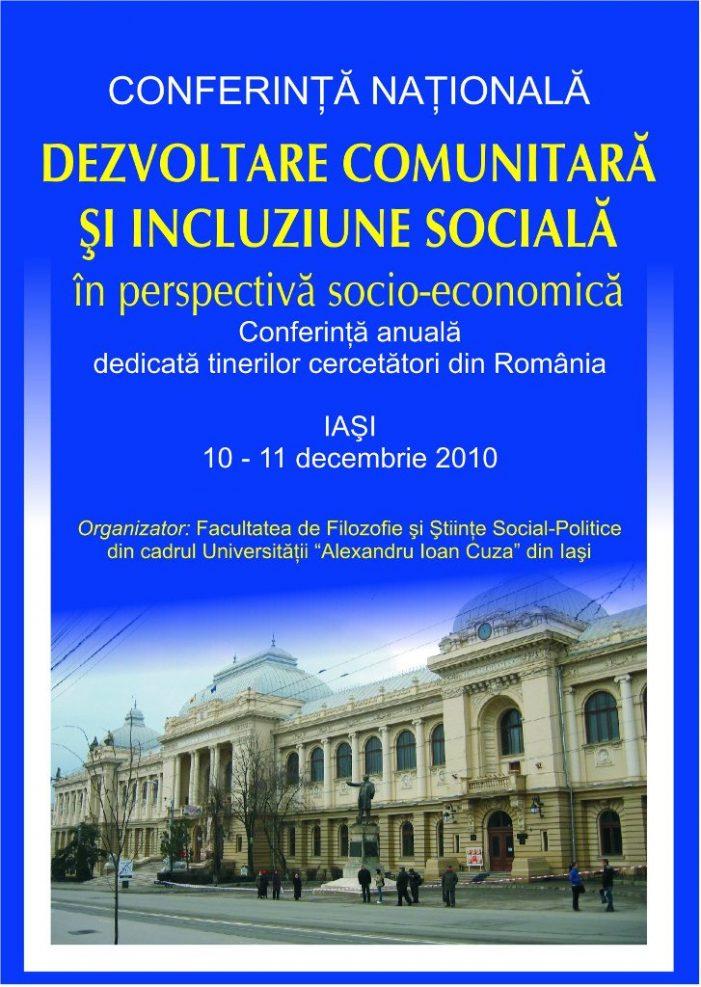 Înscrie-te să participi la Conferinţa Naţională de Sociologie