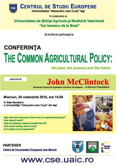 Despre Politica Agricolă Comună, cu un reprezentant al Comisiei Europene