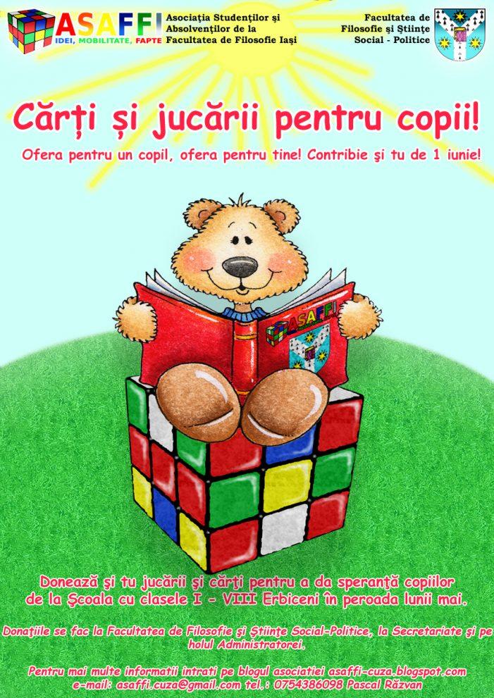 Cărți și jucării pentru copii