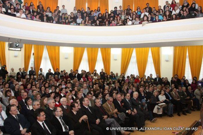 Conferinţa susţinută de Andrei Pleşu la UAIC