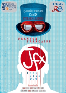 "Concert de cantec francez: ""JFX"""