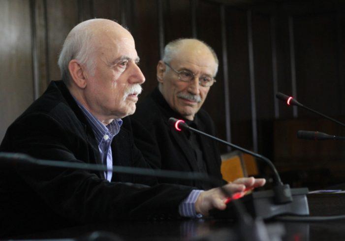Victor Rebengiuc și Stere Gulea în Aula UAIC (Galerie FOTO)