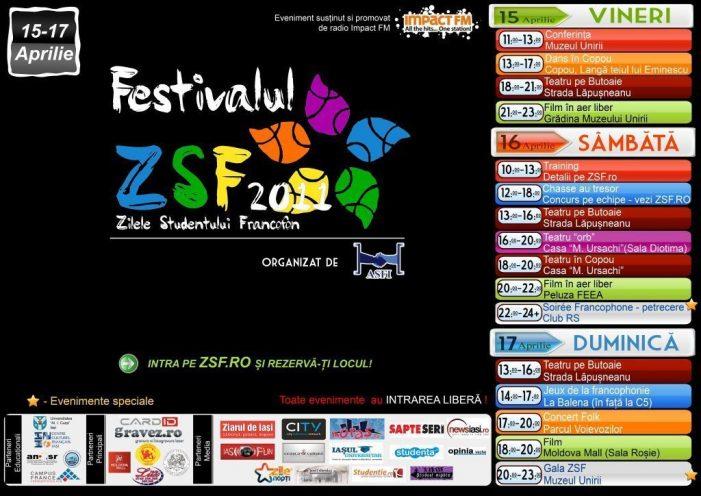 """Festivalul """" Zilele Studentului Francofon"""""""