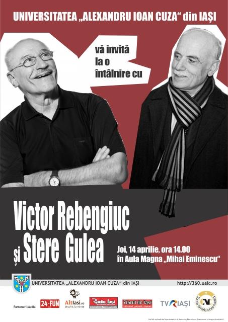 Întâlnire cu Victor Rebengiuc și Stere Gulea