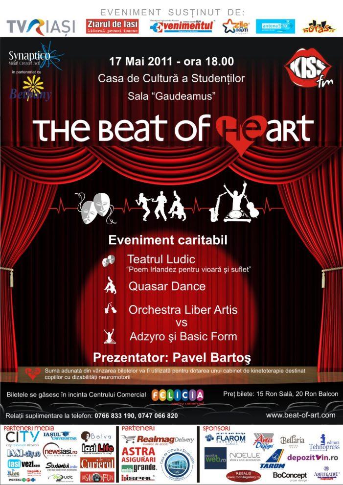 The Beat of (he)Art aduce teatrul, muzica şi dansul  pe aceeaşi scenă