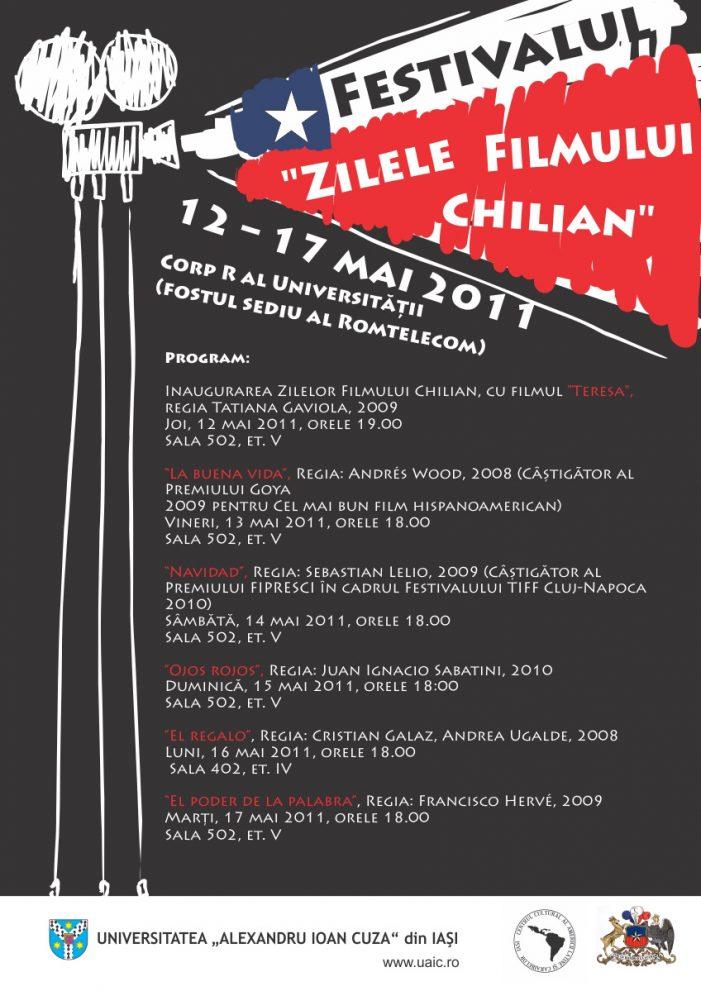 """Festivalul """"Zilele Filmului Chilian"""""""