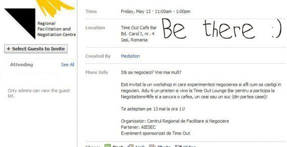Negotiations4life: workshop de negociere