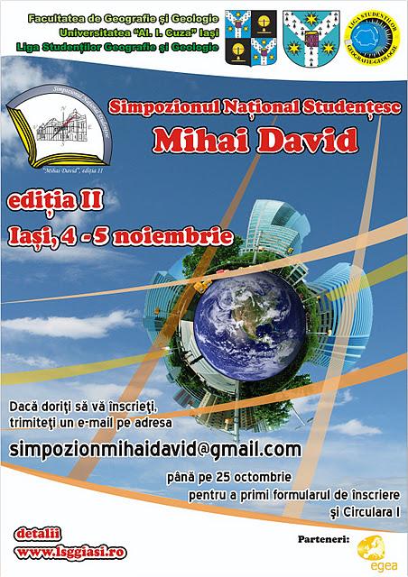 Simpozionul Național Studențesc Mihai David