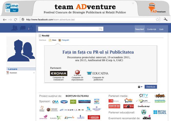 A patra ediţie team ADventure