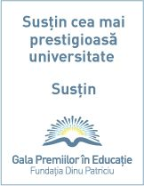 Susţine UAIC la Gala Premiilor în Educaţie