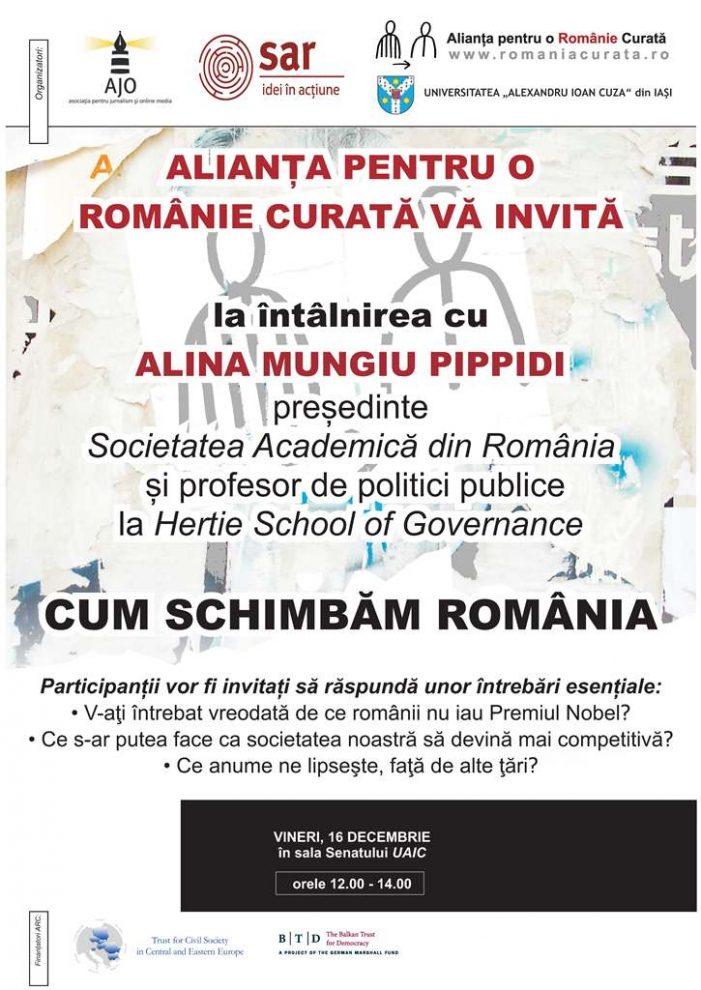Cum schimbăm România?