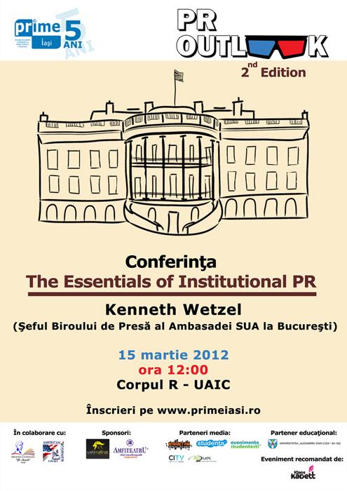 Despre comunicarea instituțională, la PR OUTlook