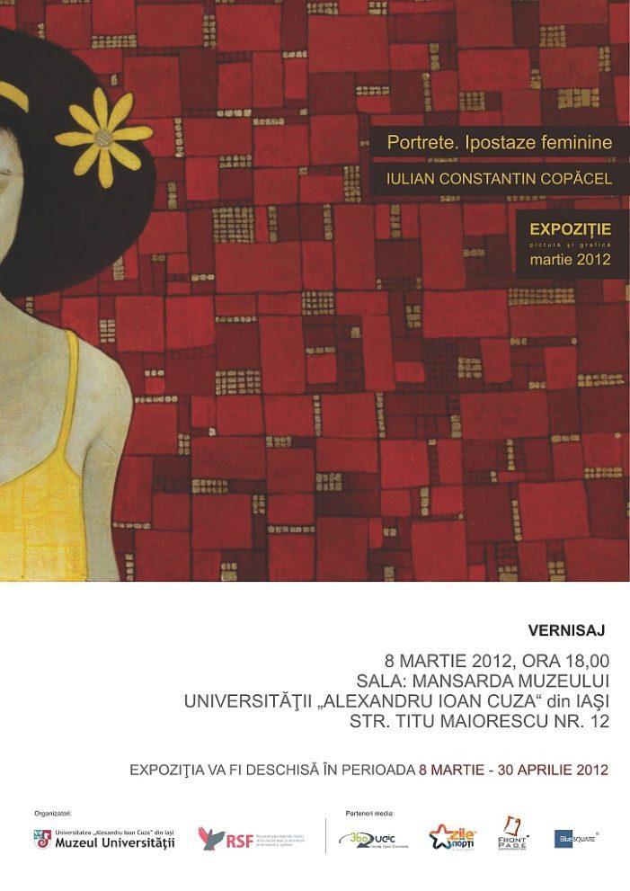"""Expoziție de pictură și grafică """"Portrete. Ipostaze feminine"""""""