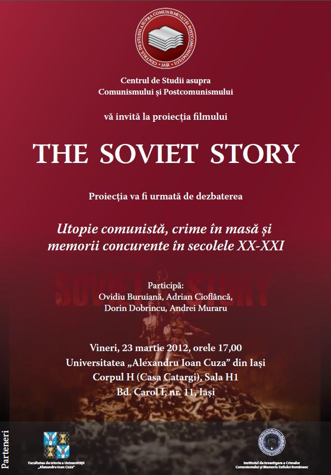 """Cum a fost la proiecția filmului """"The Soviet Story"""""""