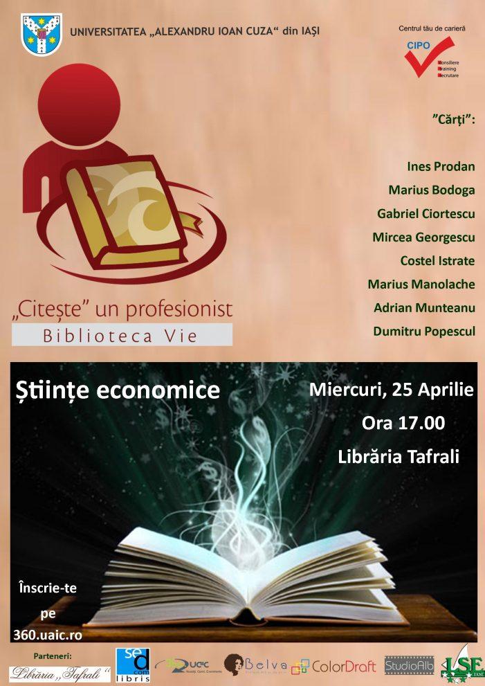 Student la Economie? Înscrie-te la Biblioteca Vie!