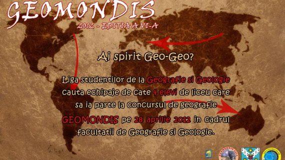 GeomondIS – un altfel de concurs