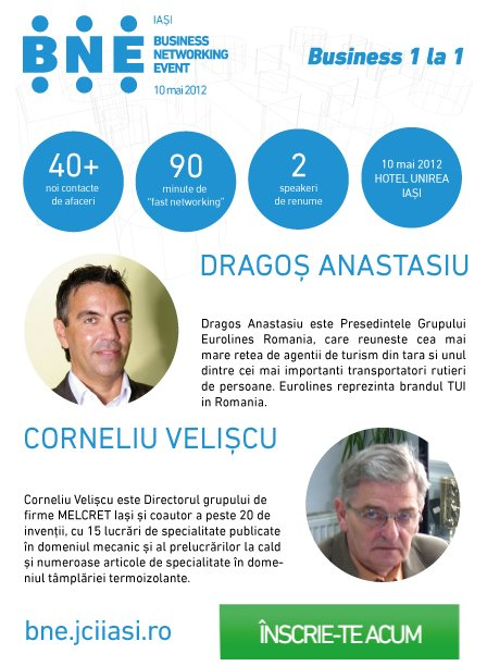 Junior Chamber International Iași te provoacă la Business Networking Event, Ediția a VIII-a