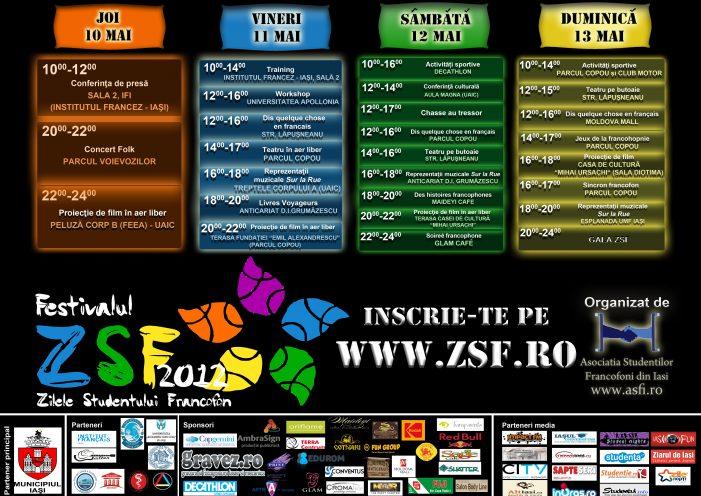 """Festivalul """"Zilele Studentului Francofon"""", a III-a ediție"""