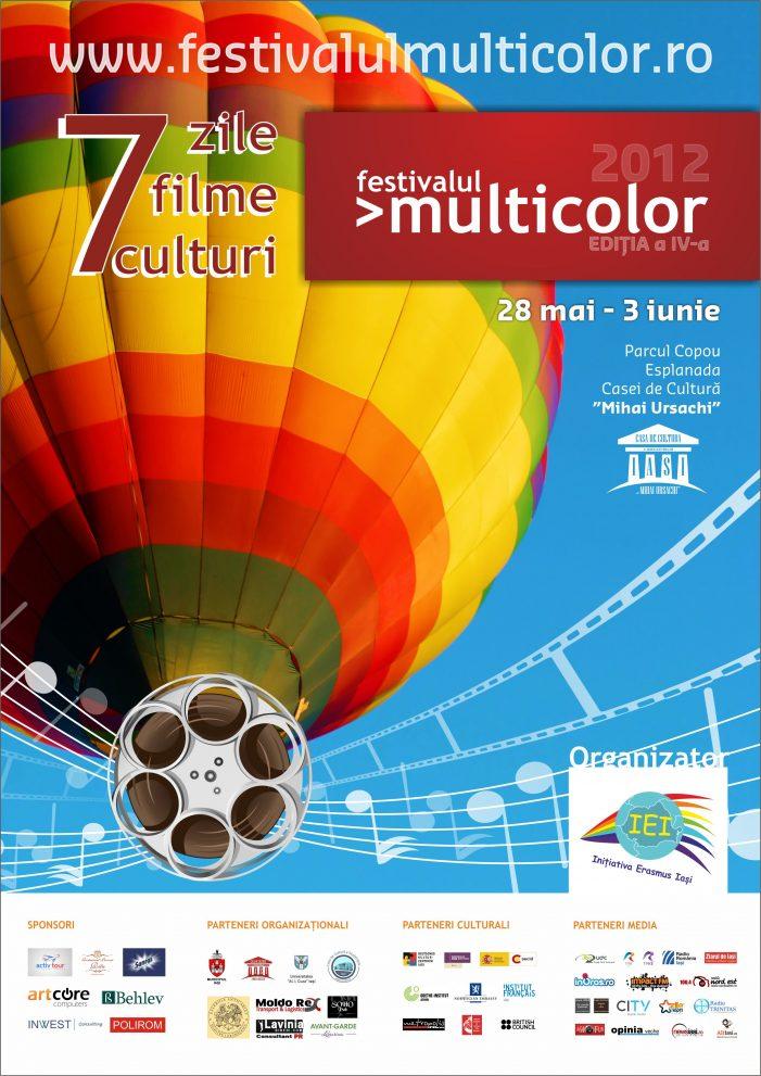 Festivalul de Muzică şi Film în aer liber >multicolor