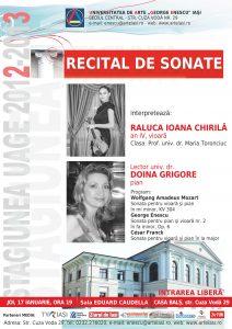 2013.01.17.Recital de sonate