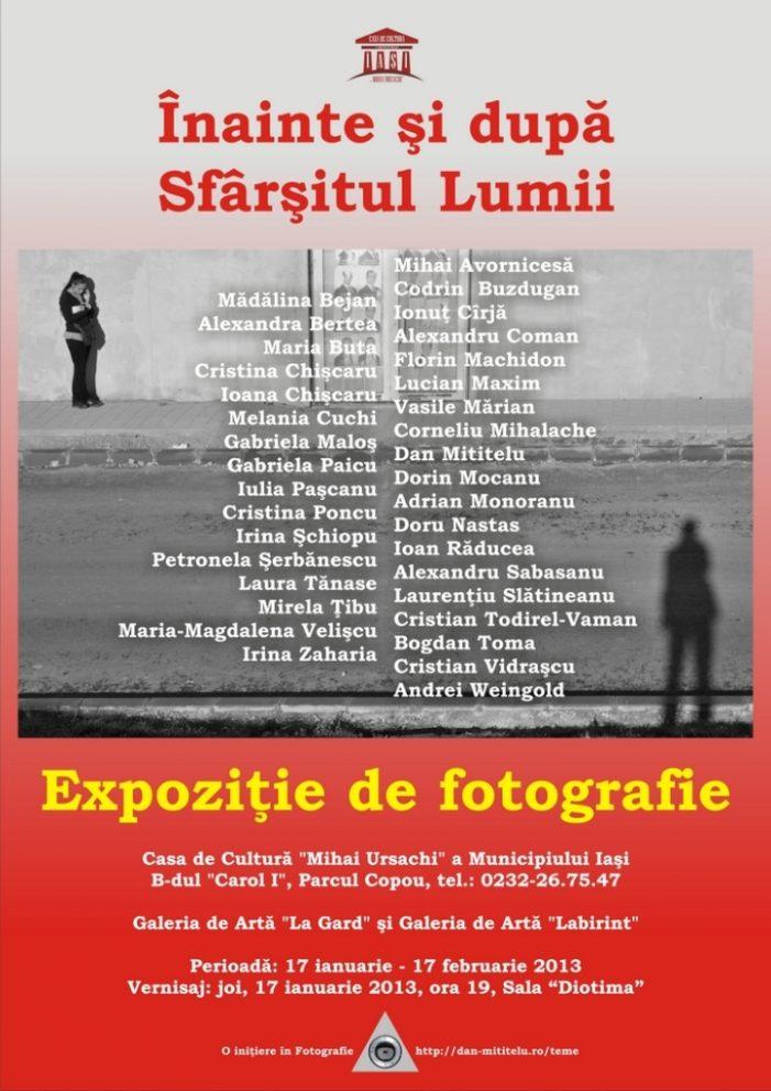 """Expoziție de fotografie """"Înainte și după sfârșitul lumii"""""""
