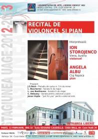 2013.02.12.Recital de violoncel