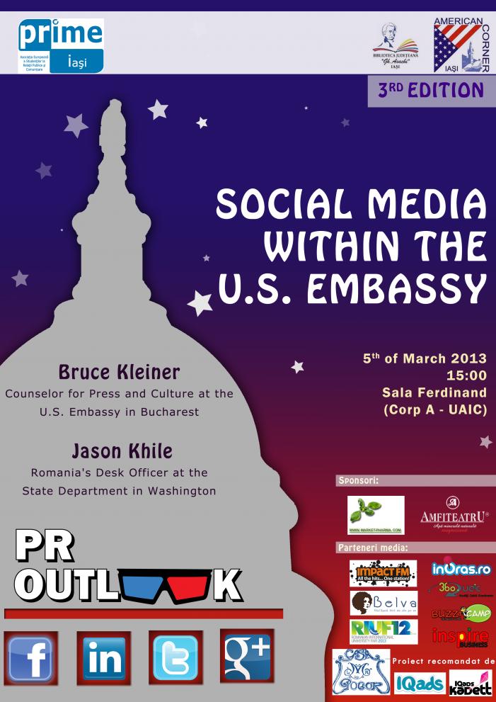 Se apropie conferința PR OUTLook
