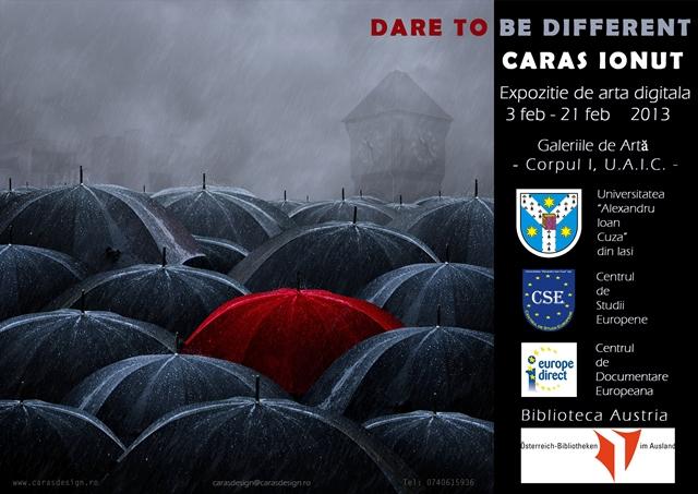 """Expoziția de artă digitală """"Dare to be different"""""""