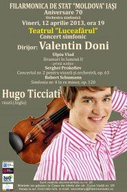 concert filarmonica iasi 12 aprilie 2013