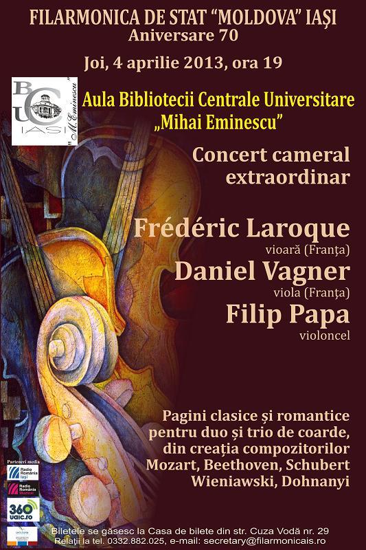 La Filarmonică, în aprilie