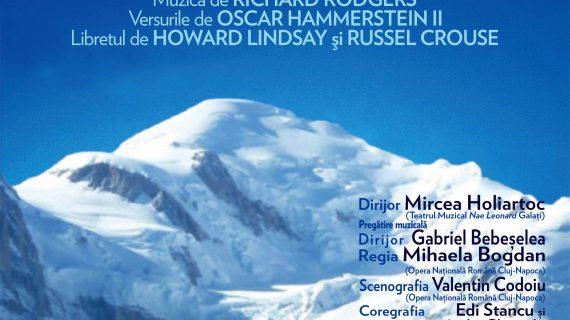 Sunetul muzicii, în premieră la Opera Iaşi