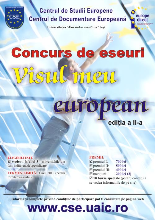 Concurs despre integrare europeană pentru studenții ieșeni
