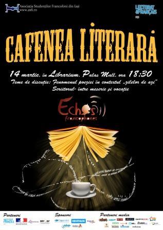 Echos Francophones la prima Cafenea Literară din 2013