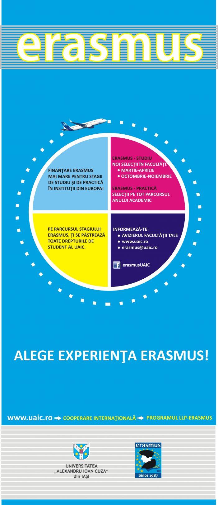 Trăieşte experienţa Erasmus
