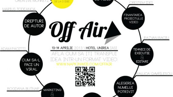 Off Air, un eveniment ce reunește iubitorii de videoclipuri online