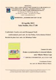 2013.04.18.Afis conferinta Mihaela Mitescu