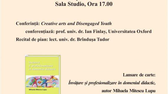 Invitat de la Universitatea Oxford conferenţiază la UAGE