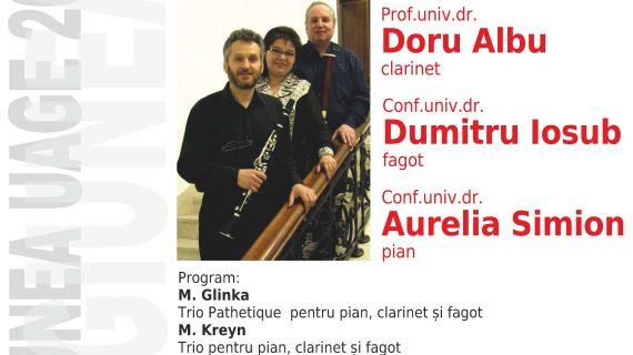 Recital instrumental susţinut de Ansamblul A-TON