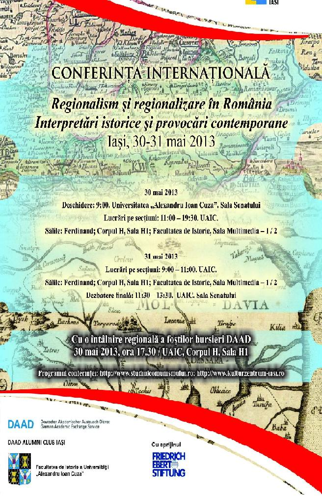 Conferinţă internaţională pe tema regionalismului şi regionalizării în România