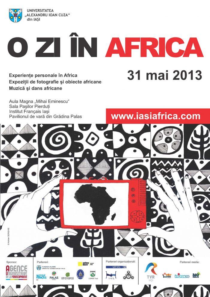 """UAIC trăieşte, vineri, """"O zi în Africa"""""""