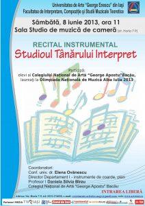 2013.06.08.Studioul tanarului interpret