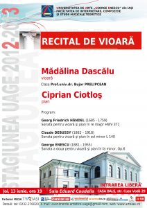 2013.06.13.Recital vioara