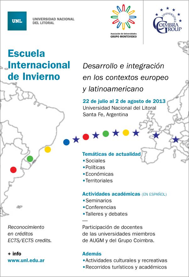 First International Winter/Summer School Santa Fé (Argentina)