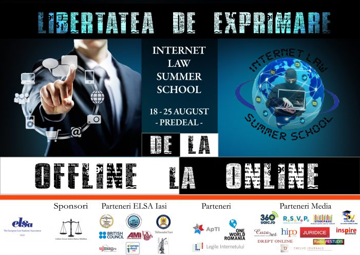 ELSA Iași organizează Internet Law Summer School
