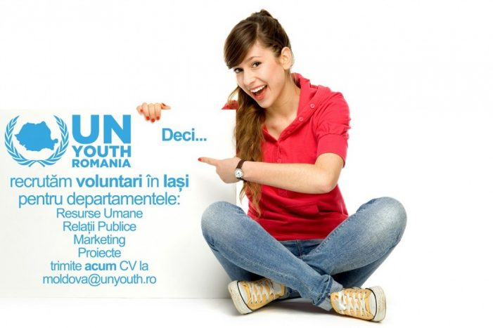 UN Youth Association of Romania recrutează la Iași!