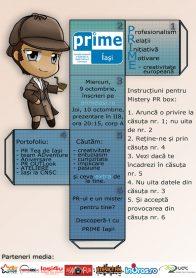 afis recrutari PRIME Iasi 2013