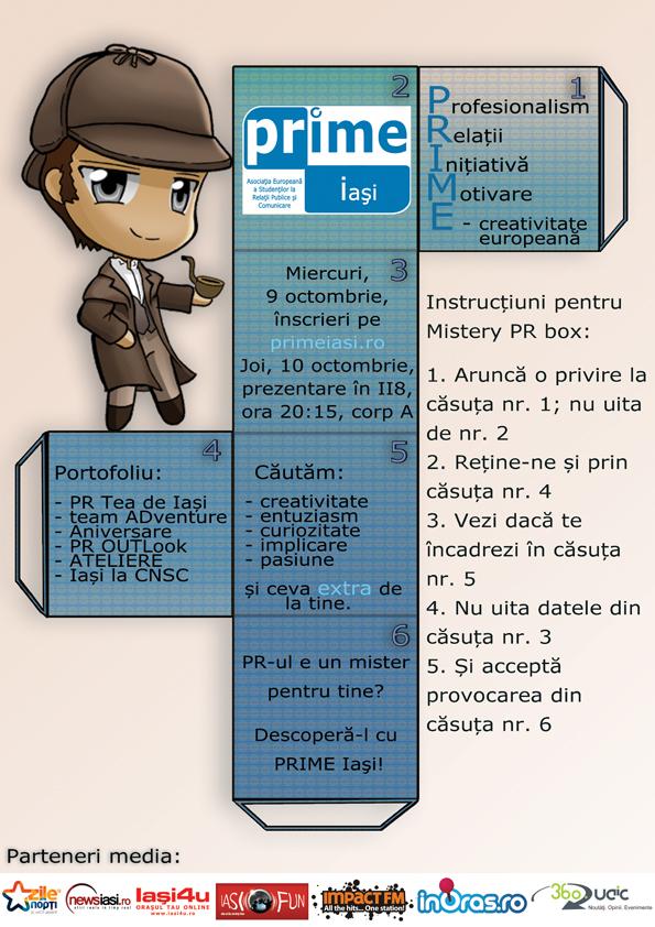PRIME Iași recrutează