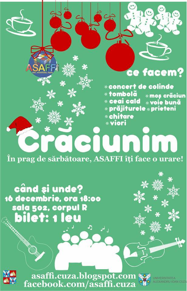 """""""Concert de colinde – Crăciunim"""""""