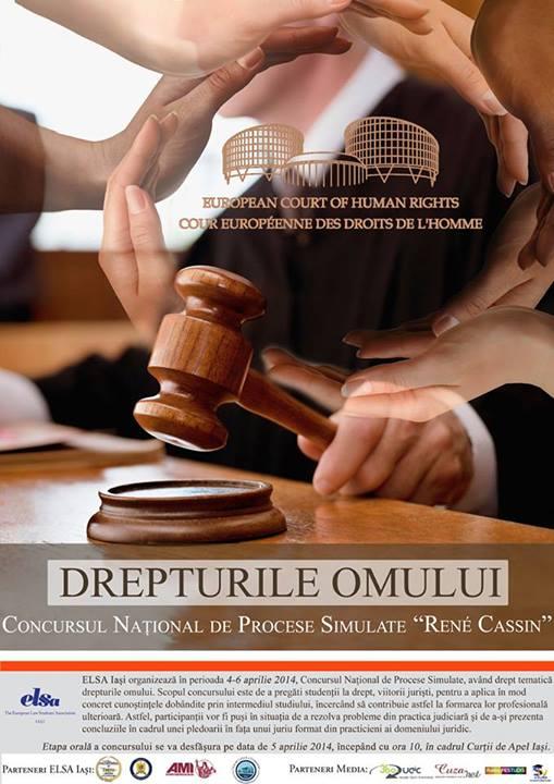 Concursul Naţional de Procese Simulate – René Cassin