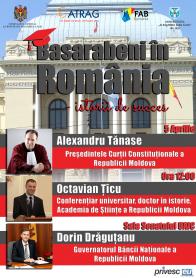 Afis - Basarabeni in Romania (2)